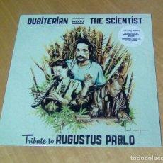 Discos de vinilo: BUBITERIAN MEETS THE SCIENTIST - TRIBUTE TO AUGUSTUS PABLO (LP 2016, DUB MNP MIR100746) PRECINTADO. Lote 180499105