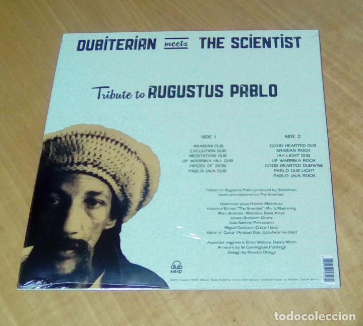Discos de vinilo: BUBITERIAN MEETS THE SCIENTIST - Tribute To Augustus Pablo (LP 2016, Dub mnp MIR100746) PRECINTADO - Foto 2 - 180499105