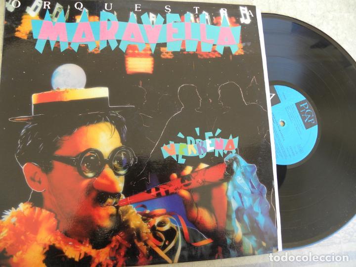 ORQUESTRA MARAVELLA VERBENA -LP 1992 -PICAP (Música - Discos - LP Vinilo - Grupos Españoles de los 90 a la actualidad)