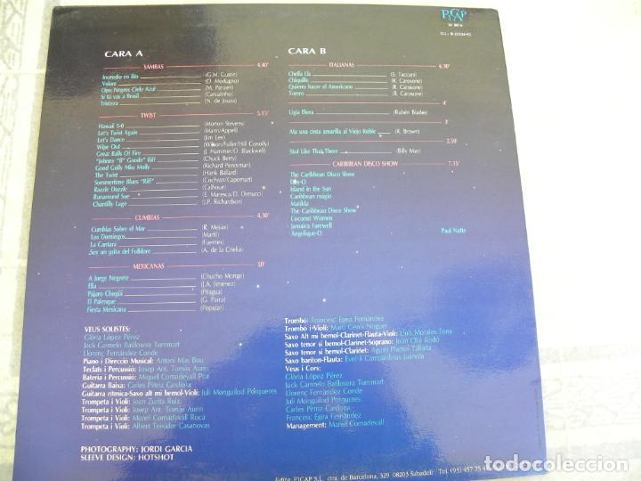 Discos de vinilo: ORQUESTRA MARAVELLA VERBENA -LP 1992 -PICAP - Foto 2 - 153710726