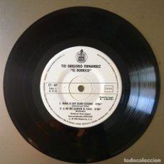 Discos de vinilo: TÍO GREGORIO EL BORRICO - 1984. Lote 153712194