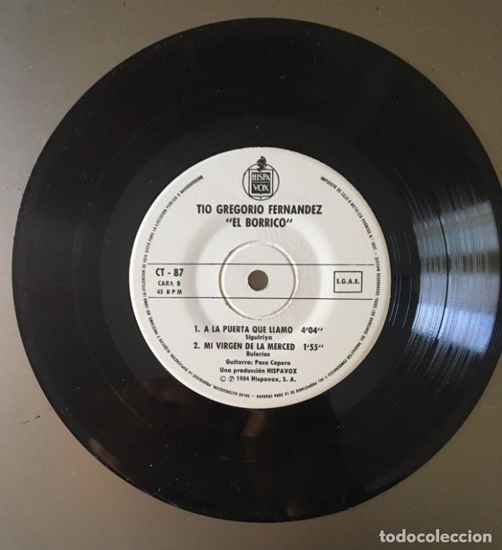 Discos de vinilo: TÍO GREGORIO EL BORRICO - 1984 - Foto 2 - 153712194