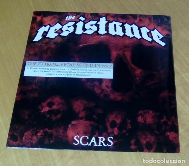 THE RESISTANCE - SCARS (LP 2013, EAR MUSIC 0208709ERE) PRECINTADO (Música - Discos - LP Vinilo - Heavy - Metal)