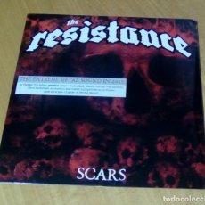 Discos de vinilo: THE RESISTANCE - SCARS (LP 2013, EAR MUSIC 0208709ERE) PRECINTADO. Lote 153714666