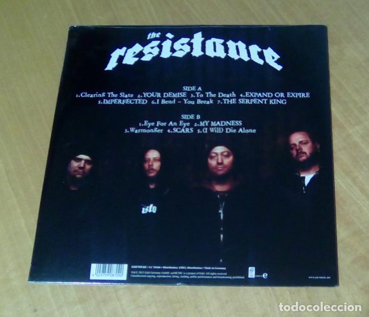 Discos de vinilo: THE RESISTANCE - Scars (LP 2013, Ear Music 0208709ERE) PRECINTADO - Foto 2 - 153714666