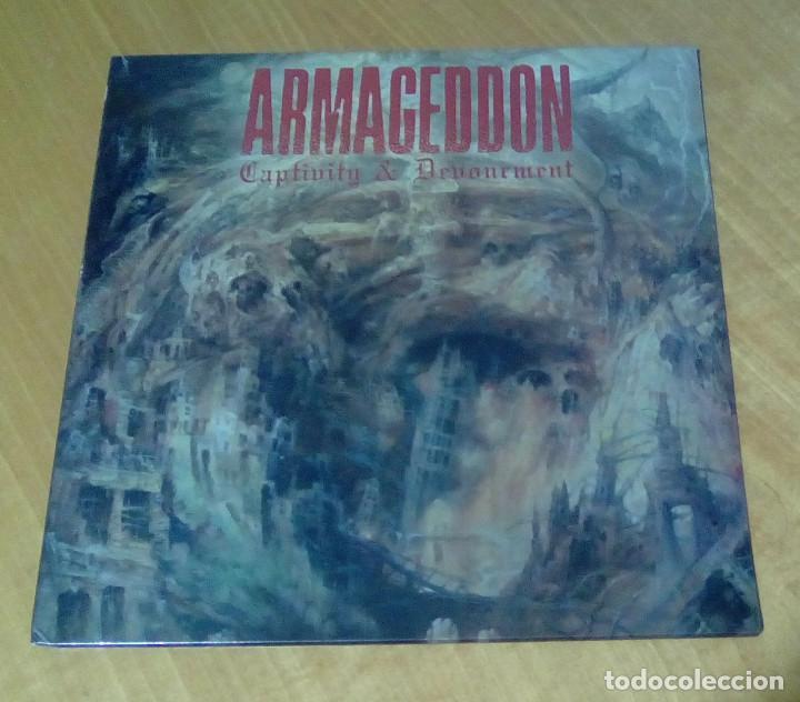 ARMAGEDDON - CAPTIVITY & DEVOURMENT (LP 2015, LISTENABLE RECORDS POSH264) PRECINTADO (Música - Discos - LP Vinilo - Heavy - Metal)