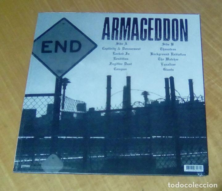 Discos de vinilo: ARMAGEDDON - Captivity & Devourment (LP 2015, Listenable Records POSH264) PRECINTADO - Foto 2 - 153715202