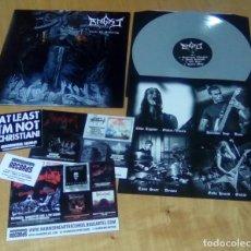 Discos de vinilo: ANGIST - CIRCLE OF SUFFERING (LP VINILO GRIS, ENCARTE, PEGATINA HAMMERHEART HHR 2014-29 ) NUEVO. Lote 153715922