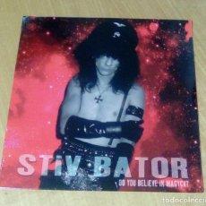 Discos de vinilo: STIV BATOR - DO YOU BELIEVE IN MAGYK? (LP 2015, EASY ACTION EARS048LP) PRECINTADO. Lote 183262432