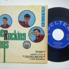 Discos de vinilo: THE ROCKING BOYS - VOLANDO - EP 1963 - BELTER. Lote 153716646