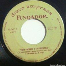 Discos de vinilo: TONY JACKSON Y LOS SHOWMEN - PLEASE PLEASE ME - EP 1964 FUNDADOR. Lote 153717594