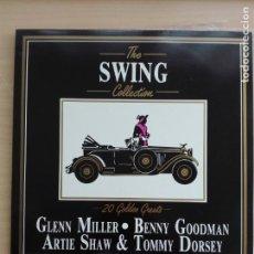 Discos de vinilo: MUSICA LP - THE SWING COLLECTION - 20 GOLDEN GREATS - DEJA VU DVLP 2029 - AUTOMOVIL COCHE. Lote 153719558