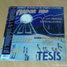 Discos de vinilo: AVIADOR DRO - TESIS (LP + LIBRETO 8 PÁGS. 2018, ESPACIAL DISCOS ESP008) PRECINTADO. Lote 153719730