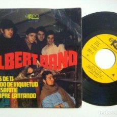 Discos de vinilo: ALBERT BAND - SONIDO DE INQUIETUD / EL DESARME / SIEMPRE CANTANDO / LEJOS DE TI - EP 1968 - EKIPO. Lote 153721326