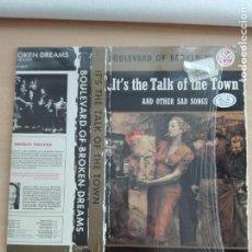Discos de vinilo: MUSICA LP - BOULEVARD OF BROKEN DREAMS - IT'S THE TALK OF THE TOWN - 1985 HANNIBAL RECORDS. Lote 153728674