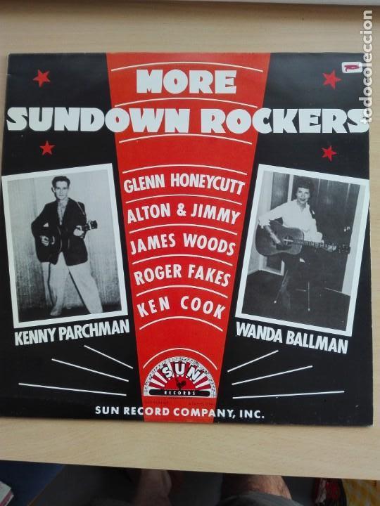 MUSICA LP - MORE SUNDOWN ROCKERS - 1985 SERDISCO (Música - Discos de Vinilo - Maxi Singles - Rock & Roll)