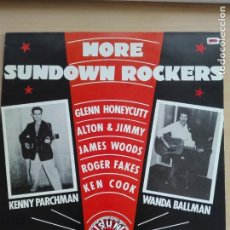 Discos de vinilo: MUSICA LP - MORE SUNDOWN ROCKERS - 1985 SERDISCO. Lote 153730690