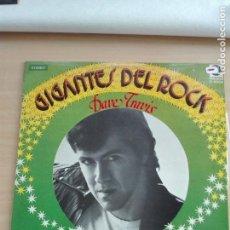 Discos de vinilo: MUSICA LP - GIGANTES DEL ROCK - DAVE TRAVIS - ROCKABILLY KILLER - 1982 TRITON CUSPIDE D-6004. Lote 153731422