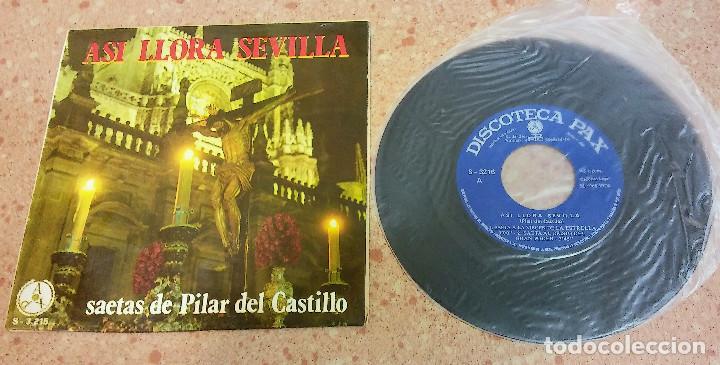 TRES SINGLE VINILO SAETAS AÑOS 60/70 (Música - Discos - Singles Vinilo - Solistas Españoles de los 50 y 60)
