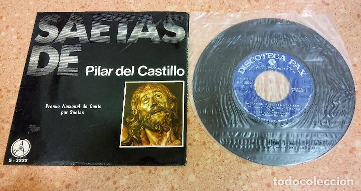 Discos de vinilo: TRES SINGLE VINILO SAETAS AÑOS 60/70 - Foto 3 - 153732130