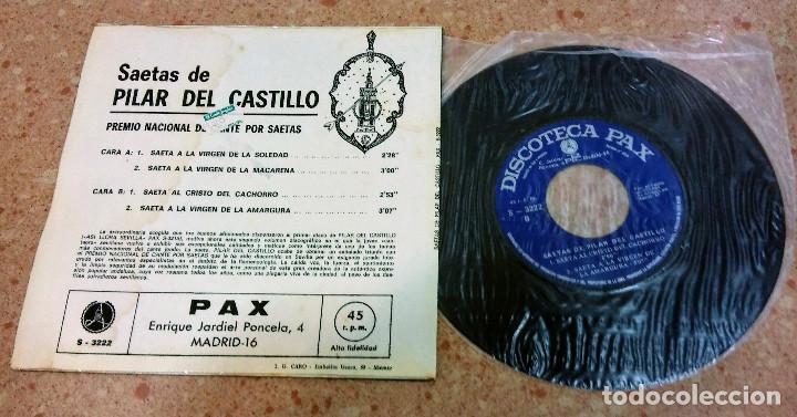 Discos de vinilo: TRES SINGLE VINILO SAETAS AÑOS 60/70 - Foto 4 - 153732130