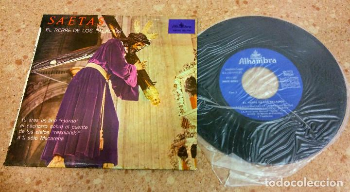 Discos de vinilo: TRES SINGLE VINILO SAETAS AÑOS 60/70 - Foto 5 - 153732130