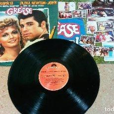 Discos de vinilo: GREASE - JOHN TRAVOLTA - OLIVIA NEWTON JOHN - DOBLE ALBUM LP. Lote 153735042