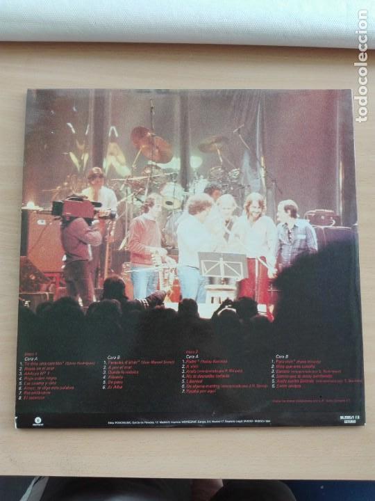 Discos de vinilo: MUSICA LP DOBLE - LUIS EDUARDO AUTE - ENTRE AMIGOS - 1985 FONOMUSIC - Foto 2 - 153744506