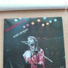 Discos de vinilo: MUSICA LP DOBLE - LUIS EDUARDO AUTE - ENTRE AMIGOS - 1985 FONOMUSIC. Lote 153744506