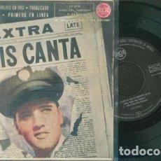 Discos de vinilo: ELVIS PRESLEY ELVIS CANTA 45 RPM. Lote 153746366