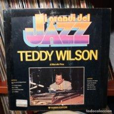 Discos de vinilo: TEDDY WILSON - GRANDI DEL JAZZ. Lote 153756350