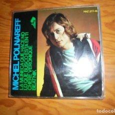 Discos de vinilo: MICHEL POLNAREFF. LA MUÑECA QUE HACE NO + 3. EP. HISPAVOX, 1966. IMPECABLE (#). Lote 153789534