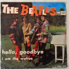 Discos de vinil: THE BEATLES - HELLO, GOODBYE ODEON - 1967. Lote 153804678
