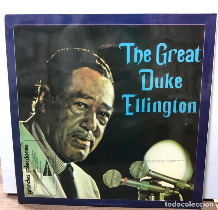 DISCO VINILO THE GREAT DUKE ELLINGTON. THE BEST OF DUKE ELLINGTON. ORIGINAL SESSIONS 1642/1946 (Música - Discos de Vinilo - EPs - Jazz, Jazz-Rock, Blues y R&B)