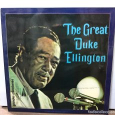 Discos de vinilo: DISCO VINILO THE GREAT DUKE ELLINGTON. THE BEST OF DUKE ELLINGTON. ORIGINAL SESSIONS 1642/1946. Lote 153808806