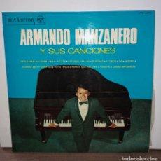 Discos de vinilo: DISCO VINO ARMANDO MANZANERO Y SUS CANCIONES. CON ORQUESTA DE MAGALLANES. Lote 153810438