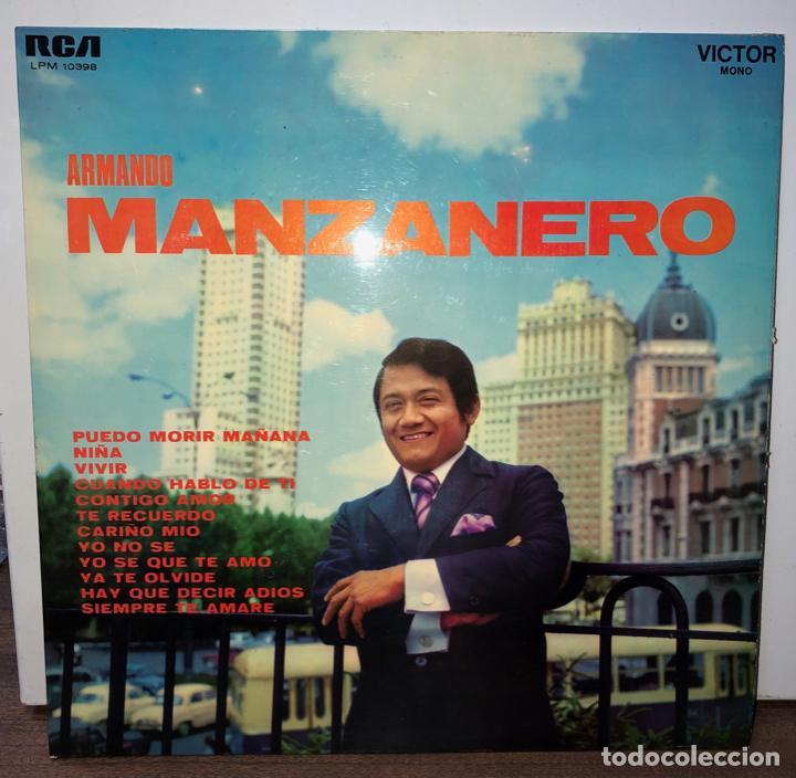 DISCO VINILO ARMANDO MANZANERO. 1969 (Música - Discos - LP Vinilo - Flamenco, Canción española y Cuplé)