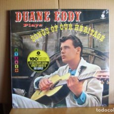 Discos de vinilo: DUANE EDDY ---- SONGS OF OUR HERITAGE ---- NUEVO. Lote 153815610