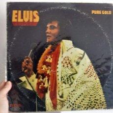 Discos de vinilo: ELVIS - PURE GOLD - LP USA, 1975. Lote 153816902
