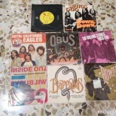 Discos de vinilo: PEQUEÑA COLECCIÓN DE SINGLES DE ROCK. Lote 178365463