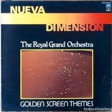 Discos de vinilo: THE ROYAL GRAND ORCHESTRA : GOLDEN SCREEN THEMES [ESP 1979] LP. Lote 153829742