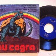 Discos de vinilo: JOU COGRA GROUP - DARKNESS / COMANCHE / NUEVO AMANECER - EP 1974 - BARNAFON. Lote 153830886