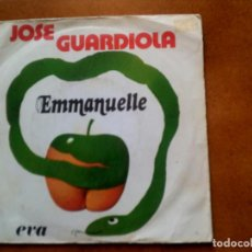 Discos de vinilo: SINGLE DE JOSE GUARDIOLA ,EMMANUELE. Lote 153833802
