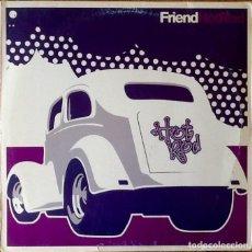 Disques de vinyle: FRIEND : HOT ROD [SWD 1997] LPX2/1ST EDITION. Lote 153834134