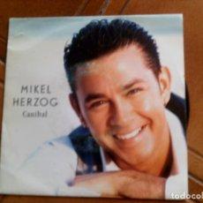 Discos de vinilo: DISCO DE MIKEL HERZOG ,CANIBAL AÑO ,1992. Lote 153834418