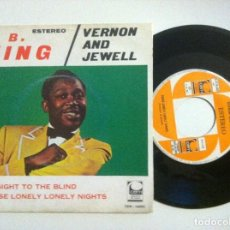 Vinyl records - B.B.KING - eyesight to the blind / VERNON & JEWELL - those lonely - SINGLE 1969 CEM - 153834562