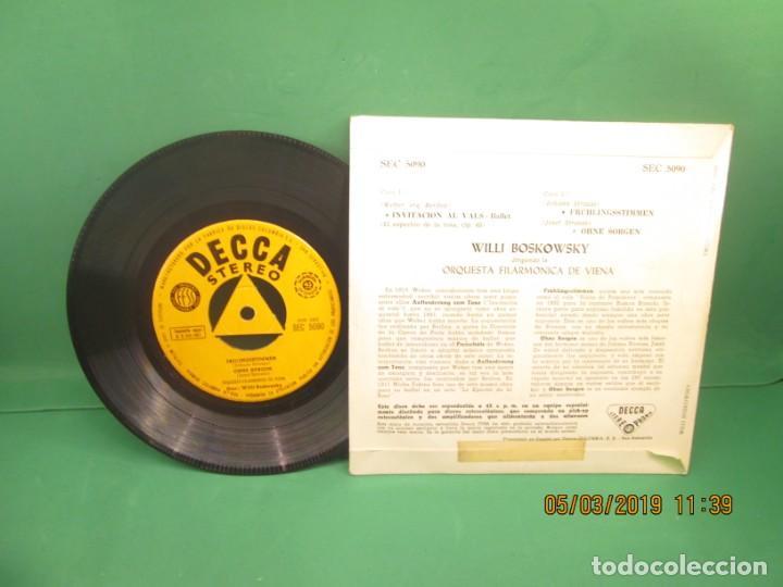 Discos de vinilo: Willi Boskowsky dirigiendo la Orquesta Filarmonica de Viena - Foto 2 - 153836126