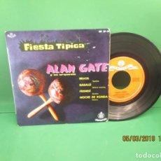 Discos de vinilo: ALAN GATE Y SU ORQUESTA FIESTA TIPICA. Lote 153839162