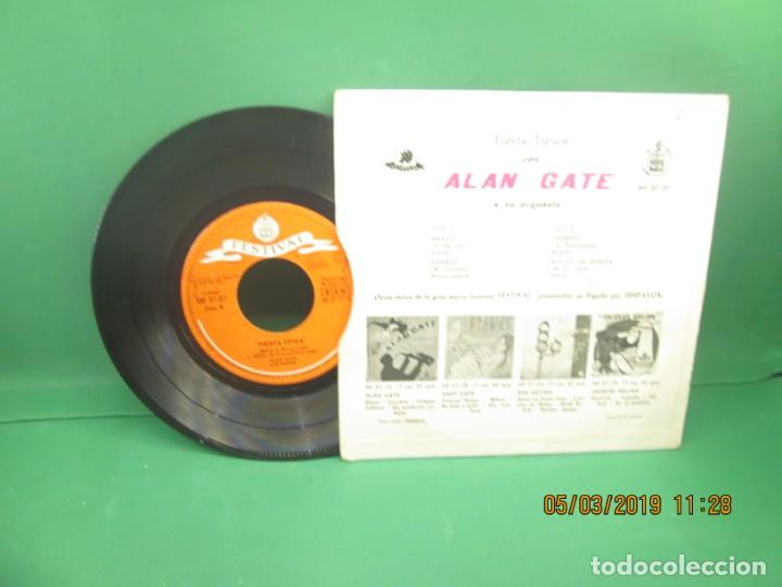 Discos de vinilo: Alan Gate y su orquesta Fiesta Tipica - Foto 2 - 153839162