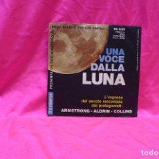 Discos de vinilo: UNA VOCE DALLA LUNA, DOCUMENTO SONORO.. Lote 153842398